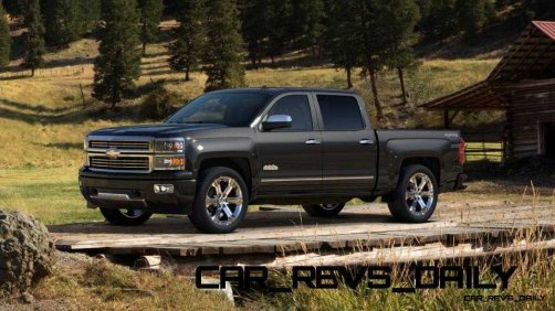 Silverado High Country Visualizer - Colors and 22-inch Wheels Galore12