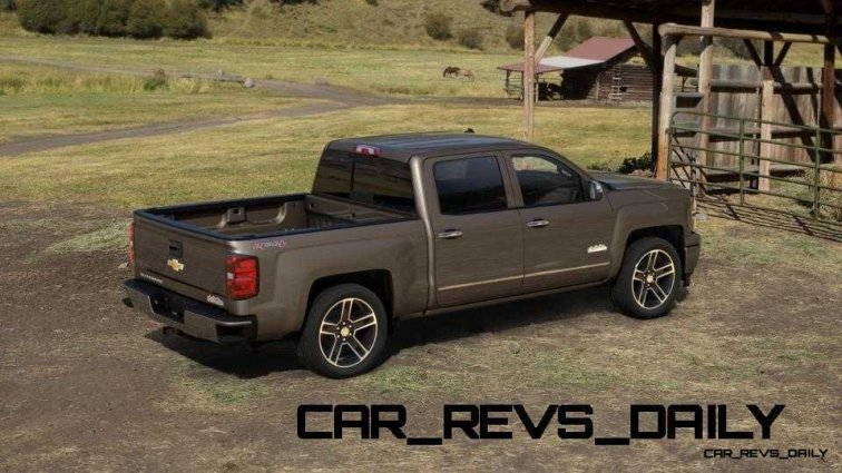 Silverado High Country Visualizer - Colors and 22-inch Wheels Galore32