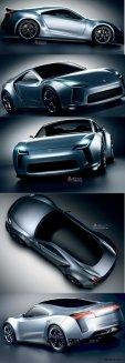 Toyota Supra Past and Future 2015 Supra Renderings 28