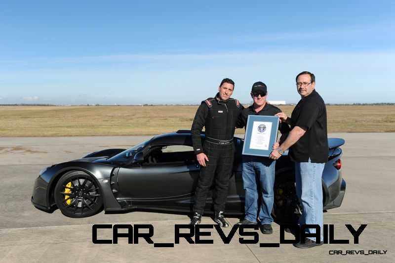 Venom GT Guinness World Record Fastest Car 27