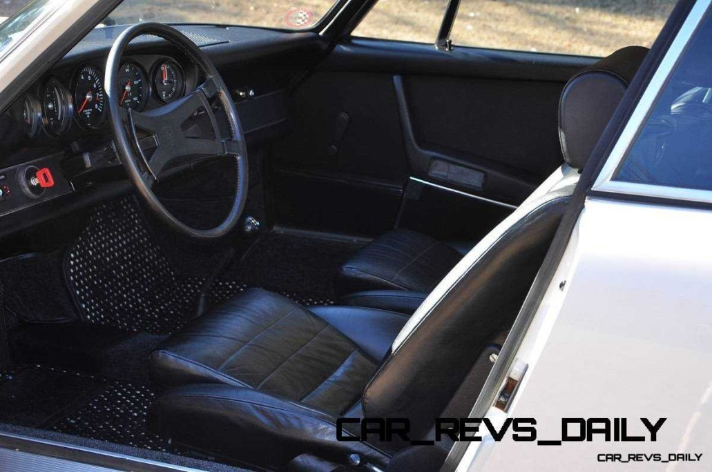 White 1972 Porsche 911S for sale in Raleigh NC 10