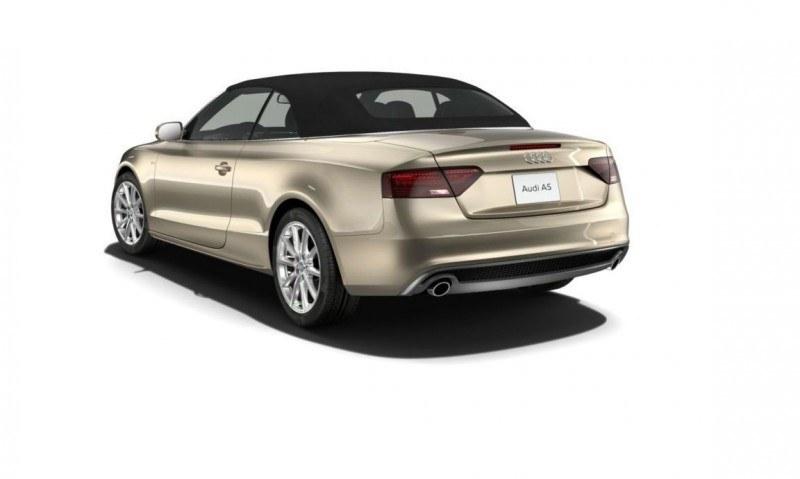 2014 Audi A5 Sport Package Cabriolet COLORS 37
