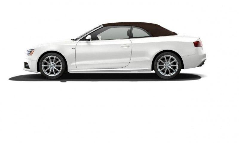 2014 Audi A5 Sport Package Cabriolet COLORS 4