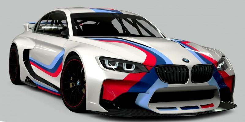 2014 BMW Vision Gran Turismo is 550HP Dream M4 CSL Widebody 57