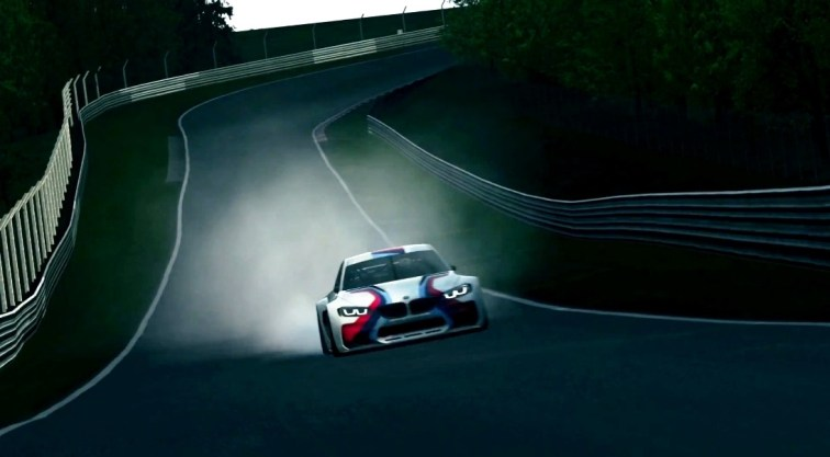 2014 BMW Vision Gran Turismo is 550HP Dream M4 CSL Widebody 8