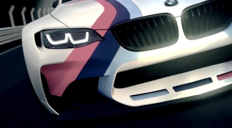 2014 BMW Vision Gran Turismo is 550HP Dream M4 CSL Widebody 9