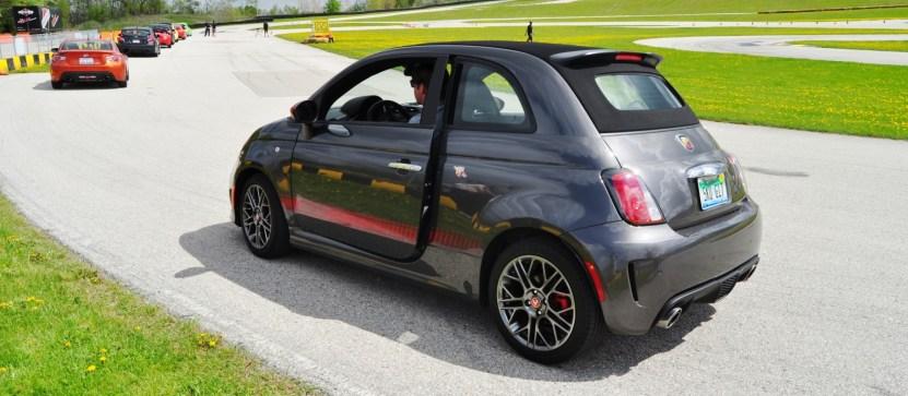2014 Fiat Abarth 500C Autocross Road America 2