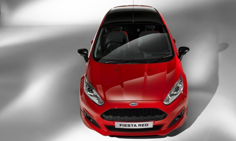 2014 Ford Fiesta Red Edition and Fiesta Black Edition Announced for UK 16