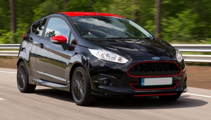 2014 Ford Fiesta Red Edition and Fiesta Black Edition Announced for UK 17