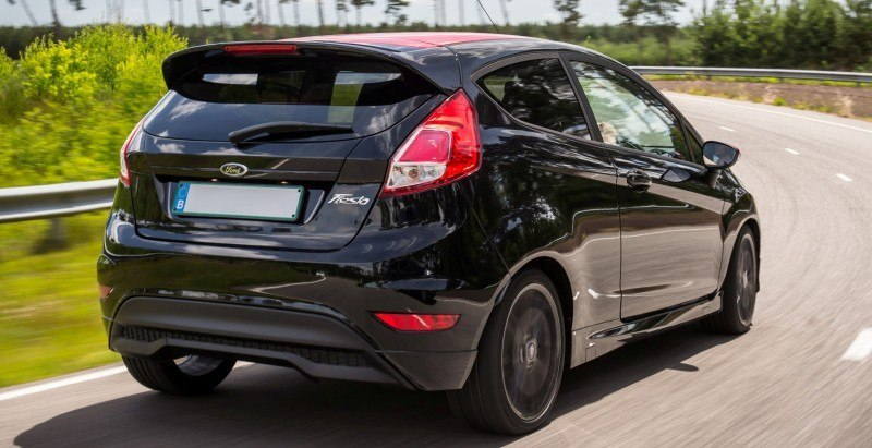 2014 Ford Fiesta Red Edition and Fiesta Black Edition Announced for UK 19