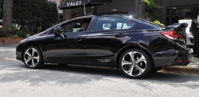 2014 Honda Civic Si Sedan Looking FU Cool In 32 Real-Life Photos 17