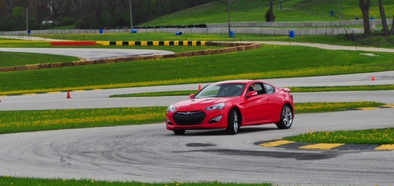 2014 Hyundai Genesis Coupe 3.8L V6 R-Spec - Road Test Review of FAST and FUN RWD Sportscar 105