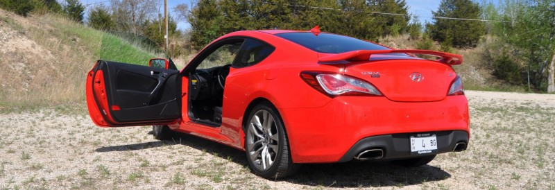 2014 Hyundai Genesis Coupe 3.8L V6 R-Spec - Road Test Review of FAST and FUN RWD Sportscar 11