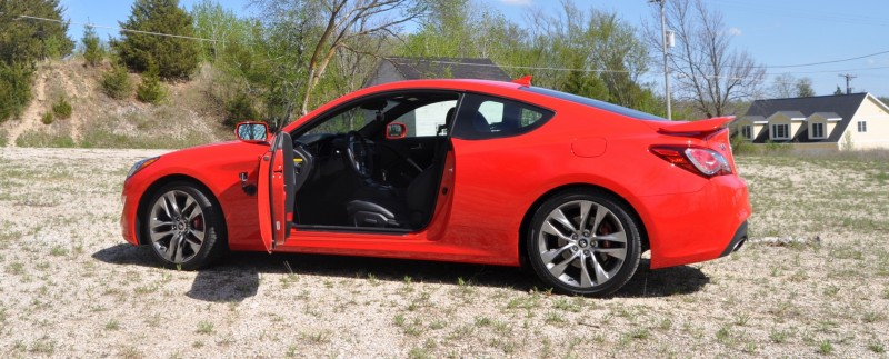 2014 Hyundai Genesis Coupe 3.8L V6 R-Spec - Road Test Review of FAST and FUN RWD Sportscar 14