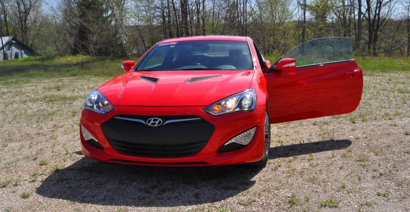 2014 Hyundai Genesis Coupe 3.8L V6 R-Spec - Road Test Review of FAST and FUN RWD Sportscar 16
