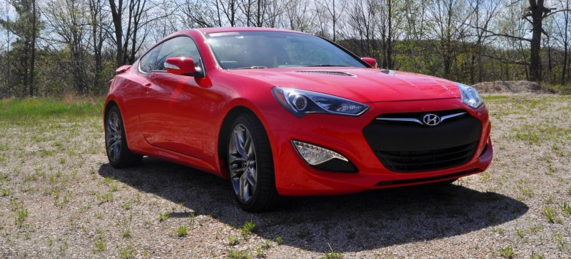 2014 Hyundai Genesis Coupe 3.8L V6 R-Spec - Road Test Review of FAST and FUN RWD Sportscar 22
