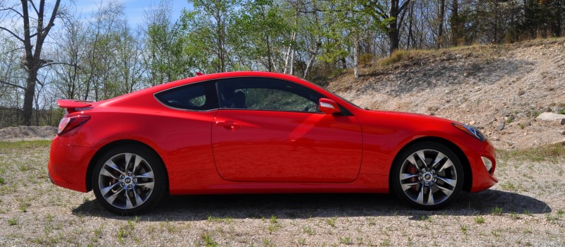 2014 Hyundai Genesis Coupe 3.8L V6 R-Spec - Road Test Review of FAST and FUN RWD Sportscar 27