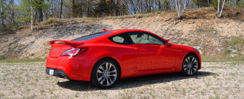 2014 Hyundai Genesis Coupe 3.8L V6 R-Spec - Road Test Review of FAST and FUN RWD Sportscar 32
