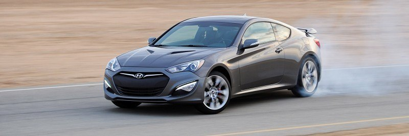2014 Hyundai Genesis Coupe 3.8L V6 R-Spec - Road Test Review of FAST and FUN RWD Sportscar 4