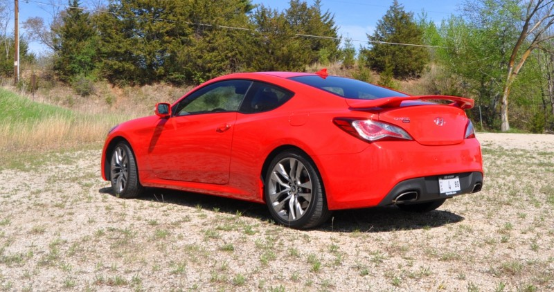2014 Hyundai Genesis Coupe 3.8L V6 R-Spec - Road Test Review of FAST and FUN RWD Sportscar 48