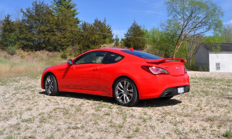 2014 Hyundai Genesis Coupe 3.8L V6 R-Spec - Road Test Review of FAST and FUN RWD Sportscar 49