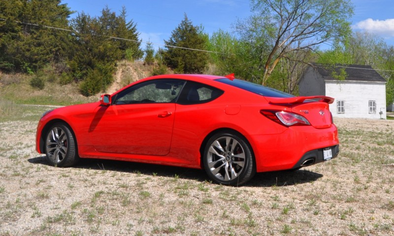 2014 Hyundai Genesis Coupe 3.8L V6 R-Spec - Road Test Review of FAST and FUN RWD Sportscar 50