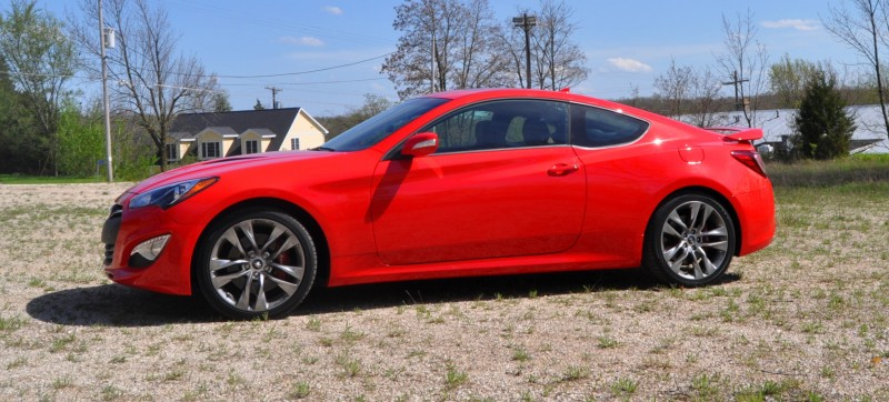 2014 Hyundai Genesis Coupe 3.8L V6 R-Spec - Road Test Review of FAST and FUN RWD Sportscar 57