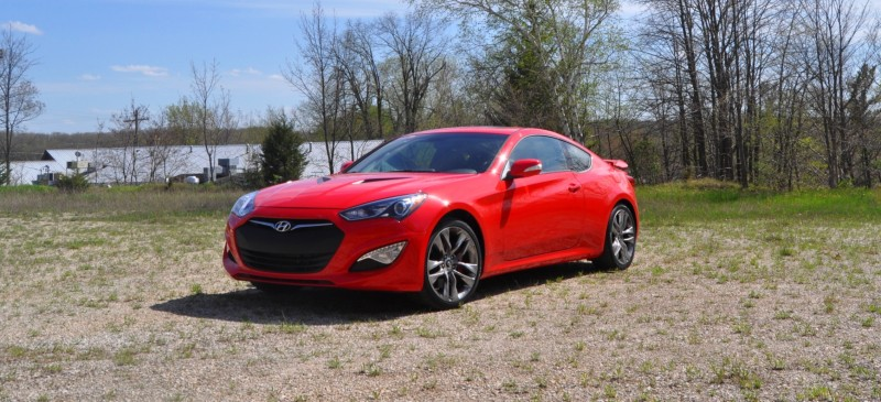 2014 Hyundai Genesis Coupe 3.8L V6 R-Spec - Road Test Review of FAST and FUN RWD Sportscar 62
