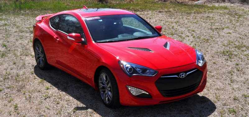 2014 Hyundai Genesis Coupe 3.8L V6 R-Spec - Road Test Review of FAST and FUN RWD Sportscar 72