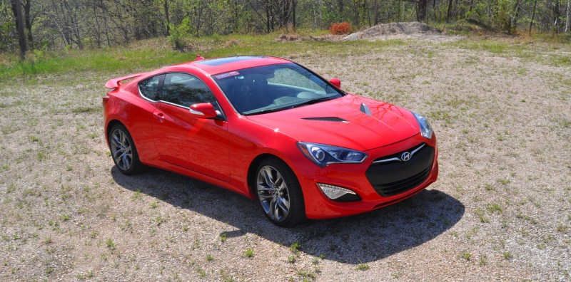 2014 Hyundai Genesis Coupe 3.8L V6 R-Spec - Road Test Review of FAST and FUN RWD Sportscar 73