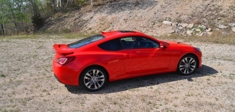 2014 Hyundai Genesis Coupe 3.8L V6 R-Spec - Road Test Review of FAST and FUN RWD Sportscar 82