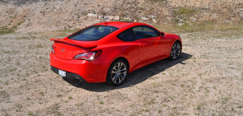 2014 Hyundai Genesis Coupe 3.8L V6 R-Spec - Road Test Review of FAST and FUN RWD Sportscar 85