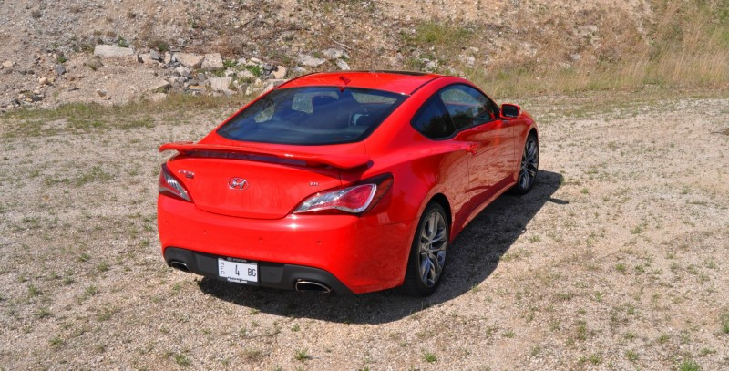 2014 Hyundai Genesis Coupe 3.8L V6 R-Spec - Road Test Review of FAST and FUN RWD Sportscar 87