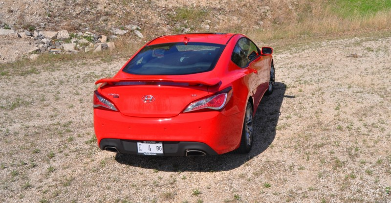 2014 Hyundai Genesis Coupe 3.8L V6 R-Spec - Road Test Review of FAST and FUN RWD Sportscar 88
