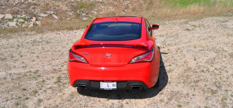 2014 Hyundai Genesis Coupe 3.8L V6 R-Spec - Road Test Review of FAST and FUN RWD Sportscar 89