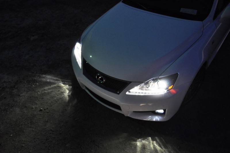 2014 Lexus IS-F Looking Sublime in Sunset Photo Shoot 28