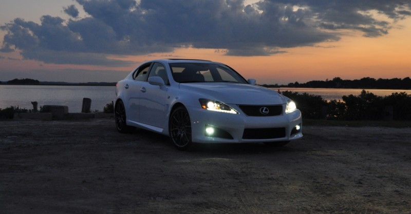 2014 Lexus IS-F Looking Sublime in Sunset Photo Shoot 3