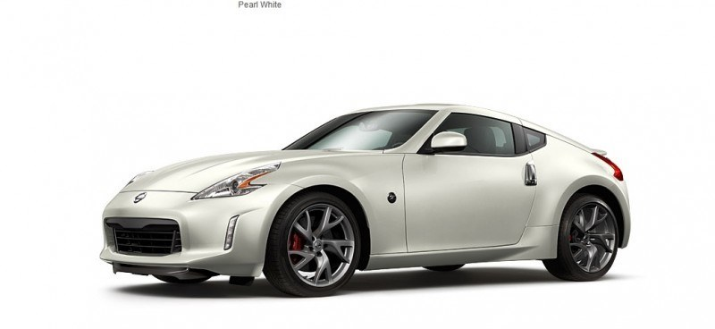 2014 Nissan 370Z Coupe - Colors, Specs, Options and Prices from $30k 25