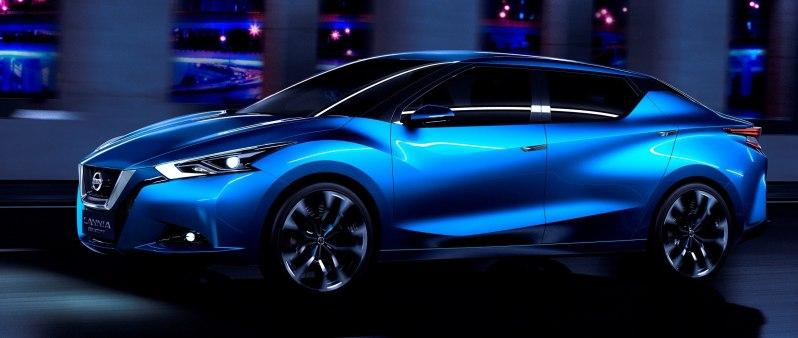 2014 Nissan Lannia Concept Previews Next Leaf EV 11