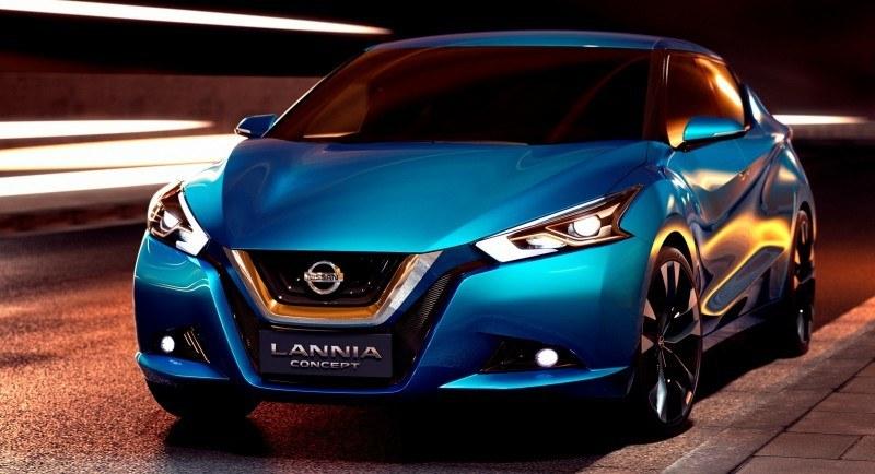 2014 Nissan Lannia Concept Previews Next Leaf EV 13
