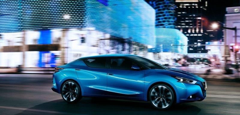 2014 Nissan Lannia Concept Previews Next Leaf EV 15