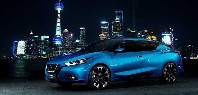 2014 Nissan Lannia Concept Previews Next Leaf EV 16