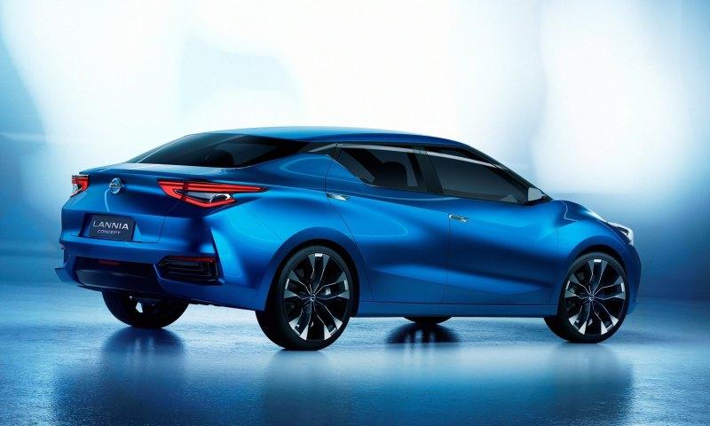 2014 Nissan Lannia Concept Previews Next Leaf EV 19