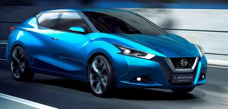 2014 Nissan Lannia Concept Previews Next Leaf EV 9