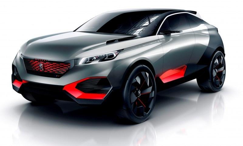 2014 Peugeot Quartz Concept Revealed Ahead of Paris Show  1