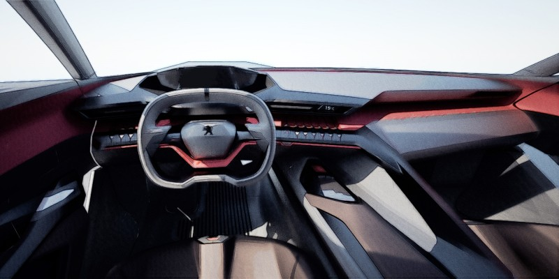 2014 Peugeot Quartz Concept Revealed Ahead of Paris Show  7