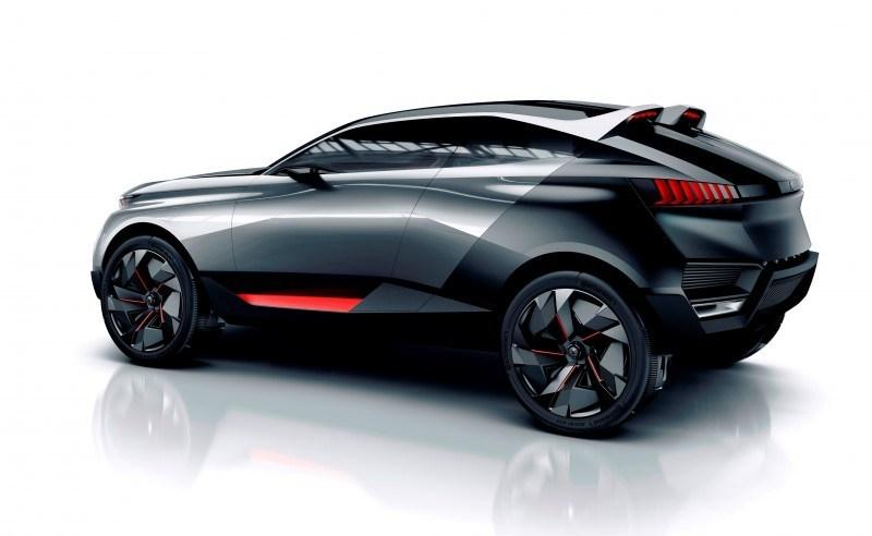 2014 Peugeot Quartz Concept Revealed Ahead of Paris Show  9
