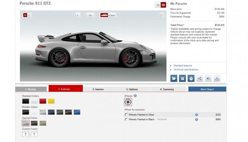 2014 Porsche 911 GT3 All Colors  18
