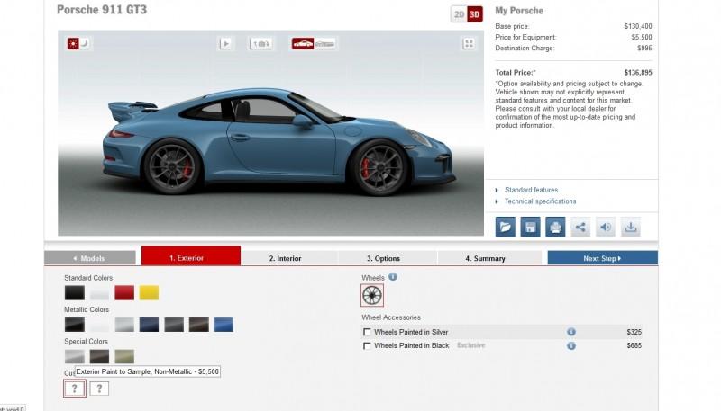 2014 Porsche 911 GT3 All Colors  19