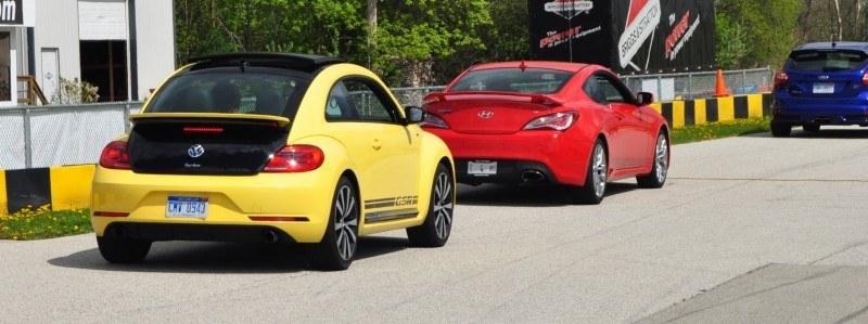 2014 Volkswagen Beetle GSR Scoots Around Go-Kart Autocross at Road America 28